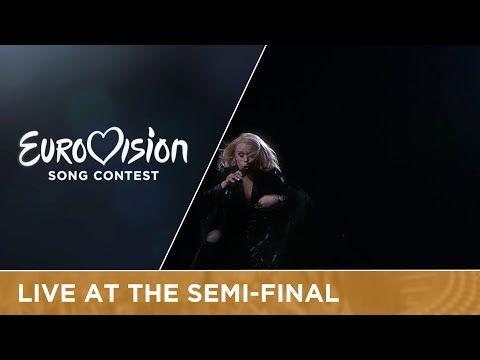 Greta Salóme - Hear Them Calling (Iceland) Live at Semi - Final 1 at Eurovision 2016 - YouTube