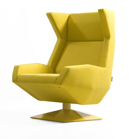 Oru Armchair from Joquer, design by Ramon Esteve