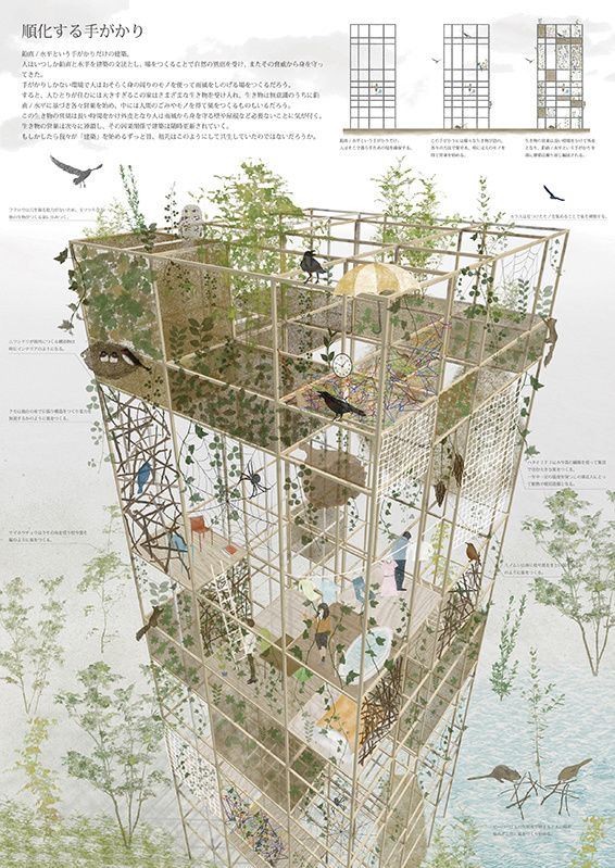 circos international architecture competition キルコス国際建築設計コンペティション 学校設計 風景彫刻 庭作りのアイデア