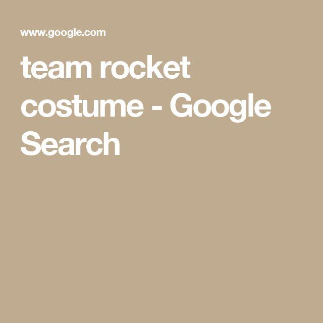 team rocket costume - Google Search