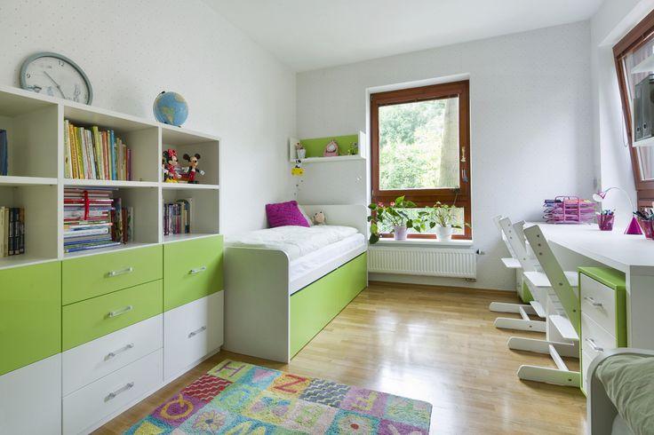 Svěží dětský pokoj