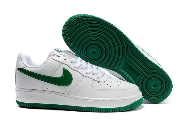 Nike Air Force 1 Low White Green Lover Shoes