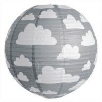 Farg & Form kinderlamp wolken grijs