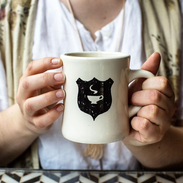 A mug filled with Jane coffee, Jane on Fillmore, San Francisco