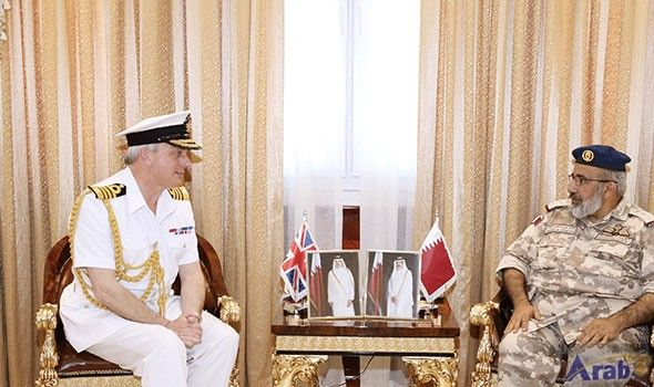 Chief of Staff Meets with U.K. Chief…