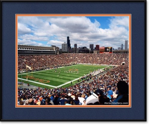 Old Soldier Field | View more @ HorschGallery.com