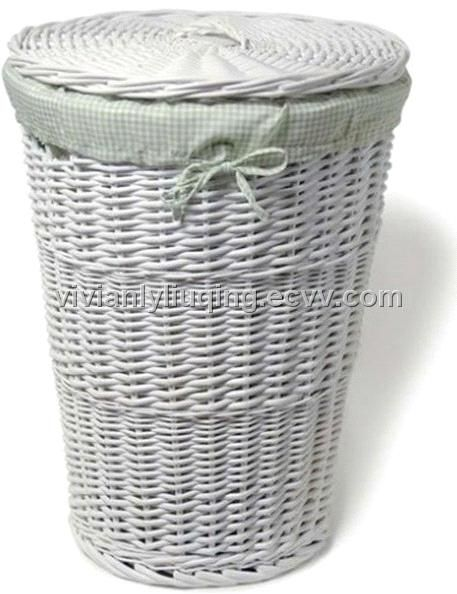 White Wicker Laundry Basket Google Search Bathroom Pinterest And Craft