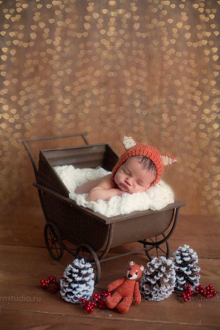 Студийные фотографии новорожденных