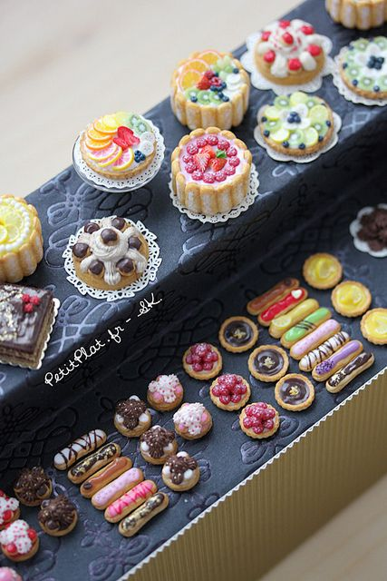 Colorful Miniature Patisserie   Flickr - Photo Sharing!