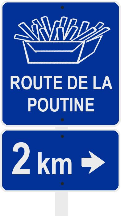 WEB SITE ROUTE DE LA POUTINE