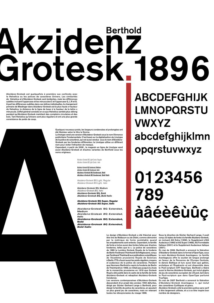 Akzidenz Grotesk is No. 7 http://www.100besttypefaces.com/7_Akzidenz-Grotesk.html#a7