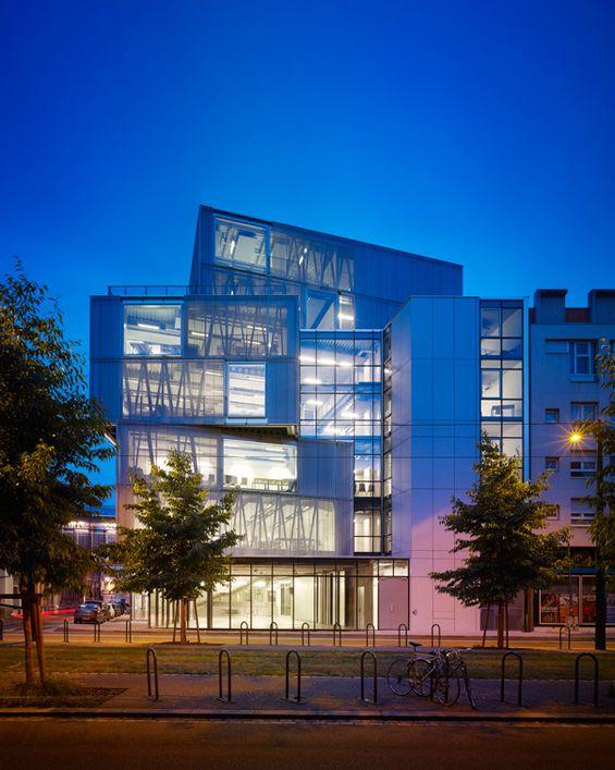 Marc Mimram Architecte : Ecole Nationale supérieure d'Architecture de Strasbourg