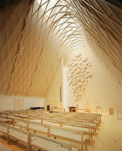 Lassila Hirvilammi: Church, Jyväskylä, Finland. | Architecture Today