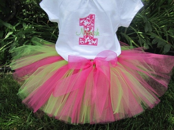Simply Sweet Watermelon Tutu Set  You pick the Shirt by bloomnbows, $40.00