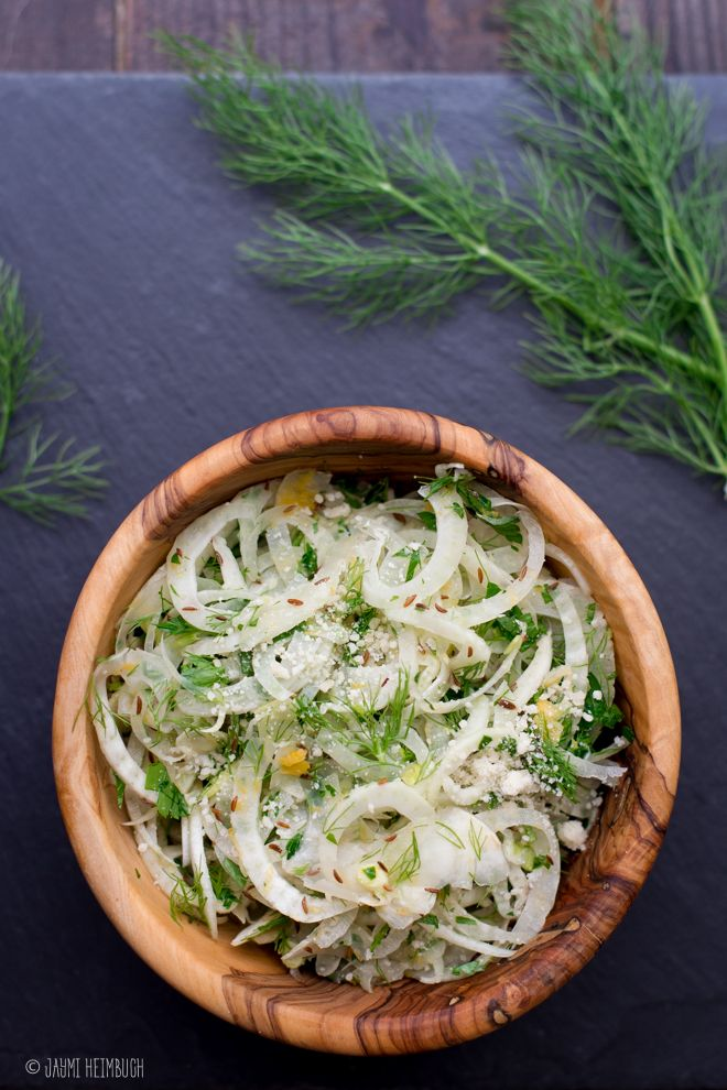 This zesty fennel slaw has a wonderful fresh, crisp texture and plenty of lemony zing.