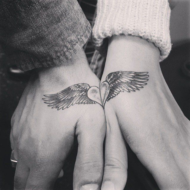 33 Matching Tattoos For Couples Who Are in It to Win It: Couples' tattoos can be pretty hit or miss.