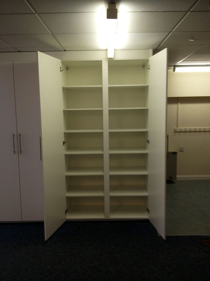 This system gave the school so much storage as it was a small school and space was at a premium