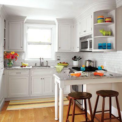 Arredare Una Piccola Cucina. Foto Articolo Cucine Moderne In Legno ...