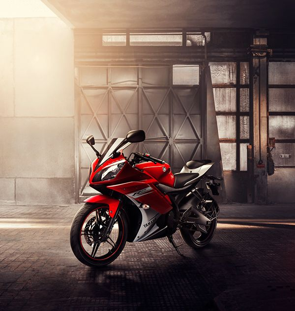 Yamaha R15 on Behance