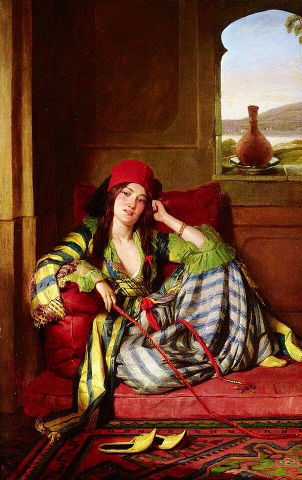 Turkish Ottoman woman