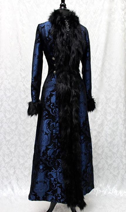 BLACK FOREST COAT - BLUE/BLACK TAPESTRY