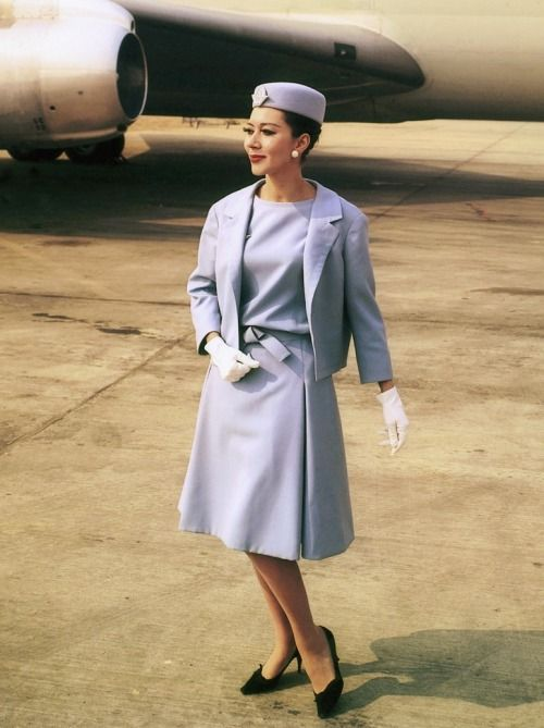 Christian Dior Air Hostess Uniform 1963