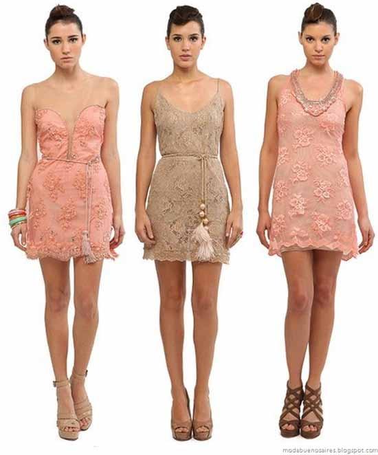 Moda y Tendencias en Buenos Aires: Natalia Antolin 2012 vestidos de fiesta verano