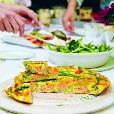 ... Frittata on Pinterest | Spinach, Sweet potato hash and Bacon frittata
