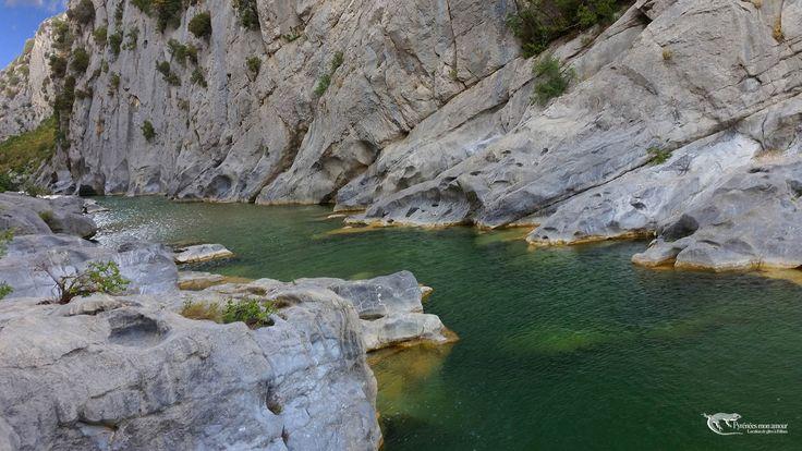 Gorges des Gouleyrous, Tautavel, Pyrénées Orientales  http://www.pyrenees-mon-amour.com