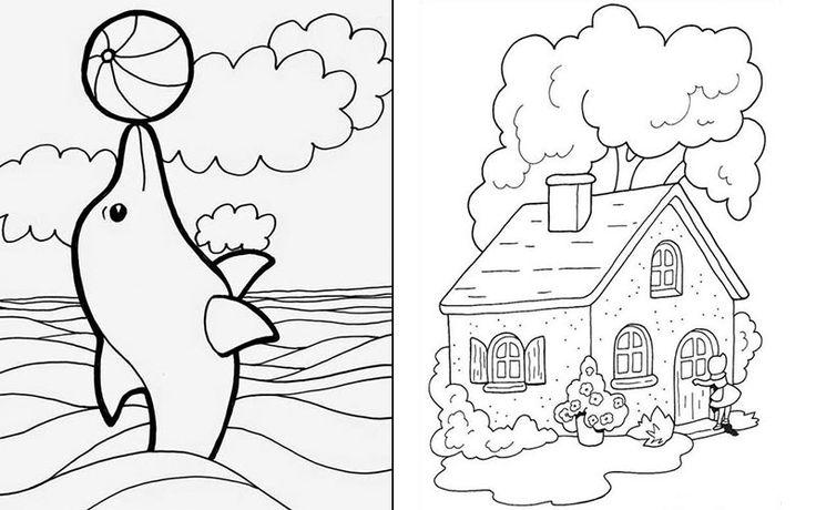 แบบฝ กระบายส อน บาล แจกฟร มากกว า 100 แบบ แม โหลดเลย Amarin Baby Kids แบบ ภาพ วอลเปเปอร โทรศ พท