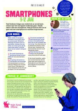 Print uit en hang op! Smartphones | Mijn Kind Online