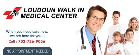 Walk in clinic and health center Loudoun are staffed with professionally trained and experienced doctors who get down to providing immediate care.
