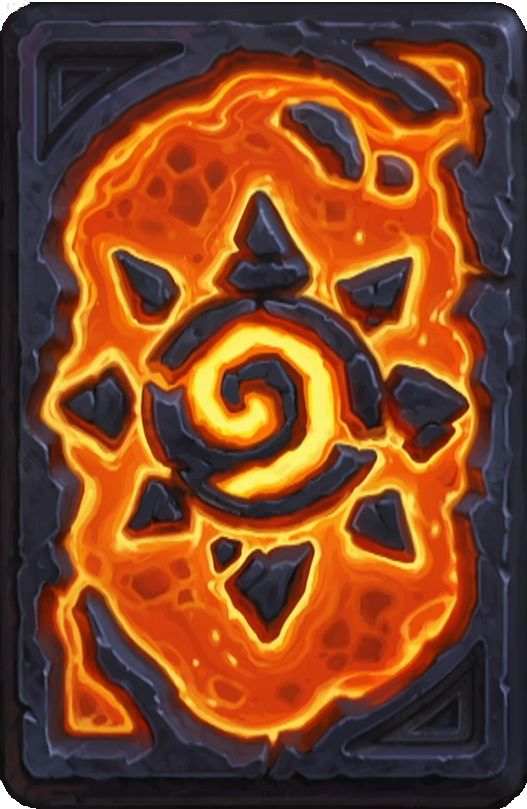 "The Card Backs of Hearthstone - ""BRM Pre-order"""
