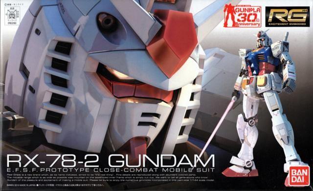 RX-78-2 Gundam RG 1/144 - Gundam Toys Shop, Gunpla Model Kits Hobby Online Store, Diorama Supply, Tamiya Paint, Bandai Action Figures Supplier