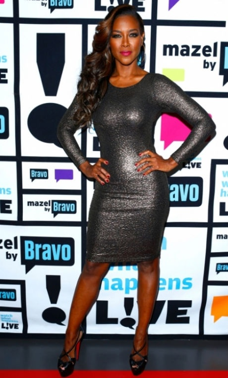 Kenya Moore, hot side swept look | Beauty for Brown ...