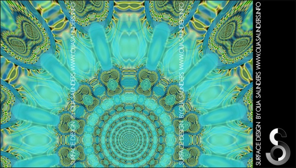 Surface Design © Olia Saunders print