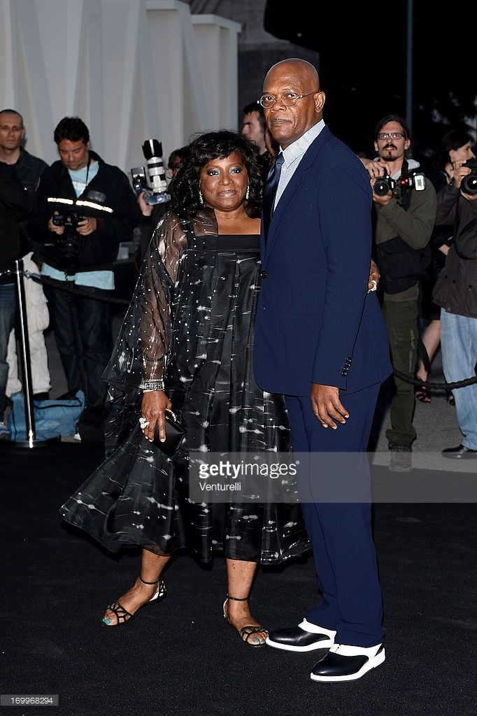 Samuel L. Jackson and wife LaTanya Richardson attend 'One Night Only' Roma on June 5, 2013 in Rome, Italy.