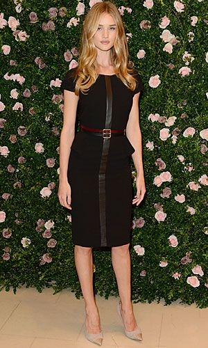 Rosie Huntington Whiteley in Marks and Spencer - Celebrities Wearing High Street Fashion