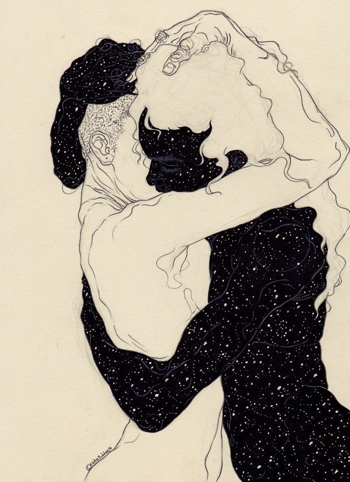 You Are The Theory In My Head Art Print by Kaethe Butcher | Society6