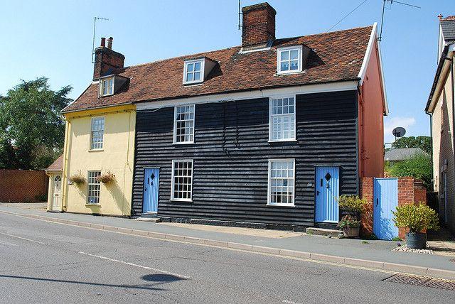 Woodbridge * Suffolk * Weatherboard House