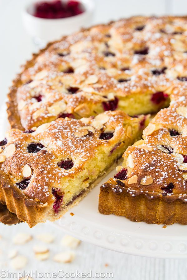 recipe: mini raspberry almond tarts [23]