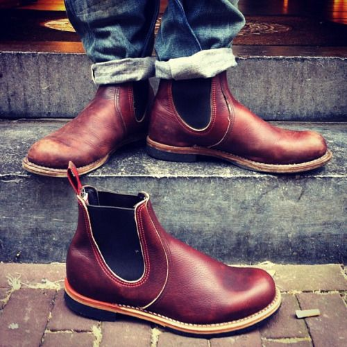 Chelsea Monday | Red Wing Shoes 2917 Chelsea Rancher in Briar Oil Slick | www.
