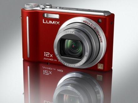 Panasonic-Lumix TZ7 rouge avec objectif Leica. Je l'ai utilisé de 2009 à 2013