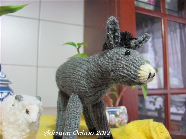Amigurumis Navidad 2015 : Amigurumis amorosos burro amigurumi mis trabajos de