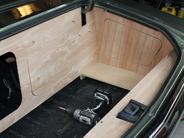 1971 chevelle alien enclosures trunk install custom walled off panels car audio custom. Black Bedroom Furniture Sets. Home Design Ideas