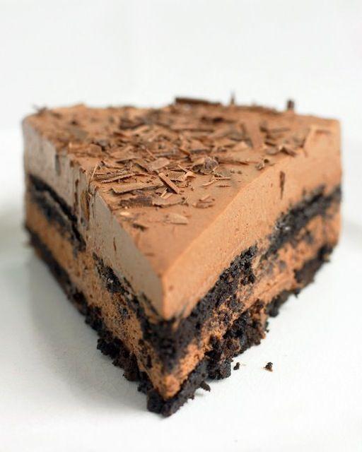 Σοκολατένιο+γλύκισμα+με+4+υλικά+χωρίς+ψήσιμο