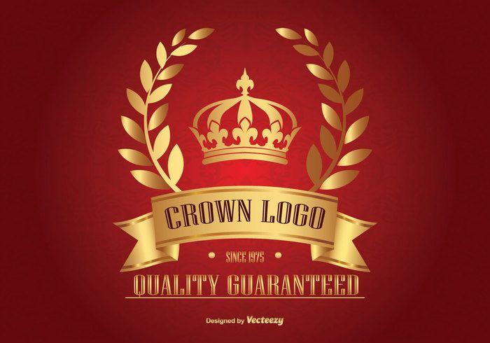 Free vector Golden Crown Logo #22462