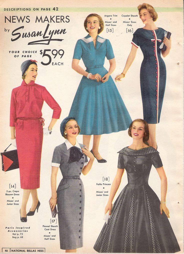 What Did Women Wear In The 1950s?