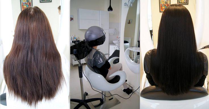 Regeneracja włosów - sauna. #hair #włosy