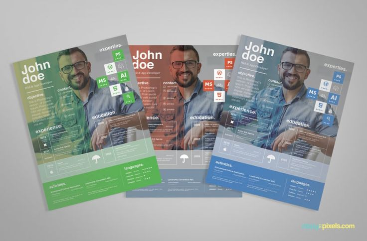 Elegant and Professional Resume Templates #freebies #resume